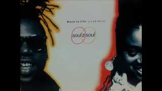 "SOUL II SOUL feat. Caron Wheeler. ""Back to life"" (club mix). 1989. vinyl 12"" version."