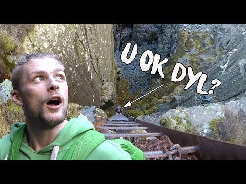 Snakes And Ladders (and Tunnels) | Dinorwic, Llanberis | Adventure Britain Ep2