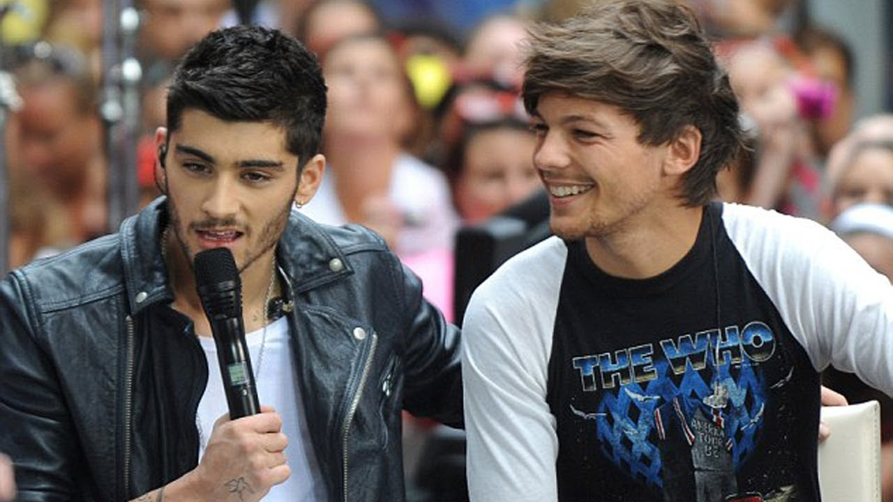 Louis Tomlinson Gallery: Louis Tomlinson REUNITES With Zayn Malik To Honor His Late