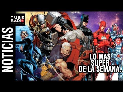 Brad Pitt en Deadpool? más spin-offs de Spiderman, The Unworthy Thor, Justice League trailer.