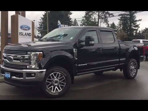2018 Ford Super Duty F-350 SRW Lariat FX4 Ultimate V8 Diesel SuperCrew Review| Island Ford
