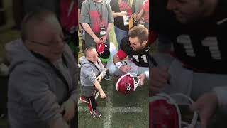Nick meeting Jake Fromm from Georgia Football