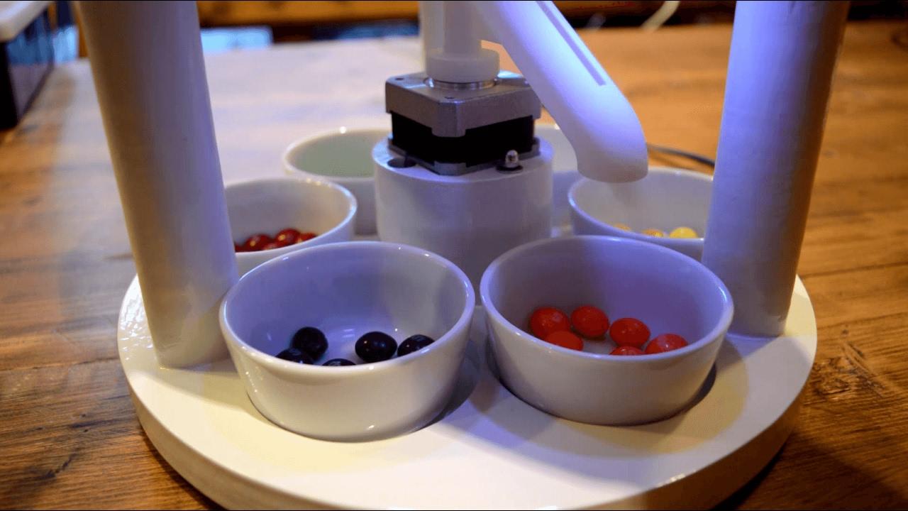 skittle sorting machine