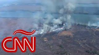 Amazonas en Brasil arde a velocidad récord, ¿qué dice Jair Bolsonaro?