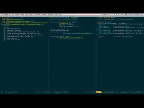 [livecoding] Migrating HTML Markup Into Code With Clojure And Hiccup