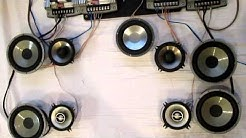 ECLIPSE 3640 4ch Amplifier -FUJITSU TEN- 5.1 Surround  2-way Car Audio System setup Overview PART 2