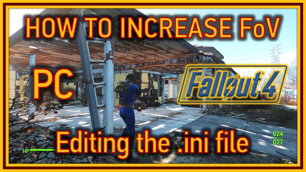 fallout 4 no ini file