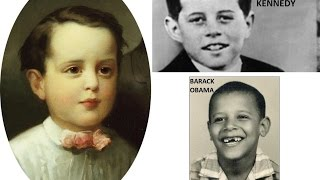 US Presidents when they were young! Tribute, Happy President's Day! 2/20/2017