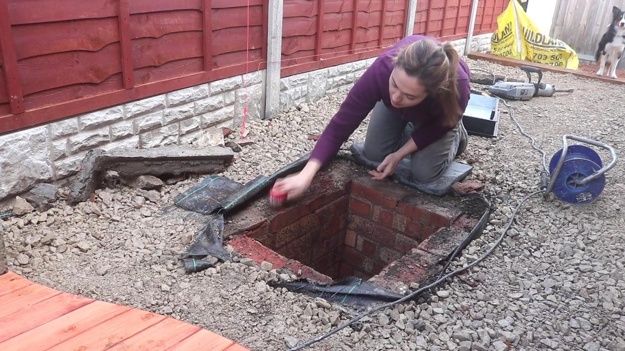 Replacing A Manhole Cover On Driveway / The Carpenteru0027s Daughter