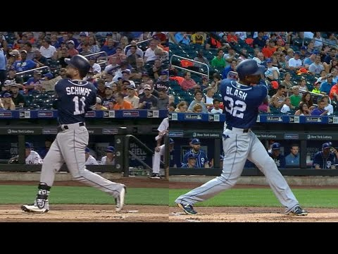 SD@NYM: Schimpf, Blash drill backtoback home runs