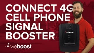 Connect 4G - Cell phone signal booster for your home or office | weBoost