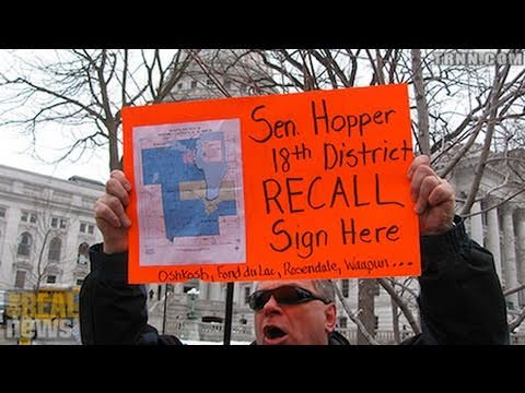 General Strike and Recall Movement Possible in Wisconsin
