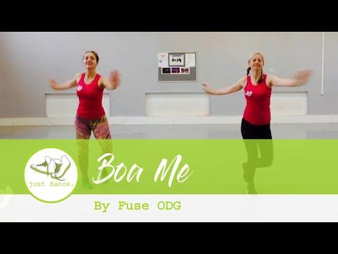 Easy Zumba Warm Up - Boa Me Fuse ODG ft. Ed Sheeran & Mugeez