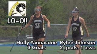 Southern Regional 10 Toms River North 3 | Holly Yannacone Hat Trick | Rams 10-0 in 2019