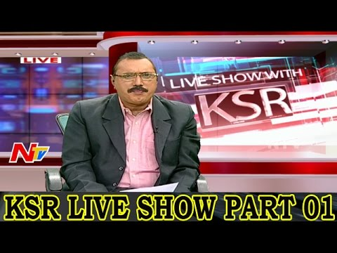All Parties Claming Credit for Hyderabad Development | Big Debate on KSR Live Show Part 01