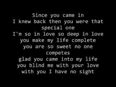 Your the only one i need lyrics