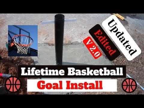 Lifetime Basketball Goal Updated Video 2.0