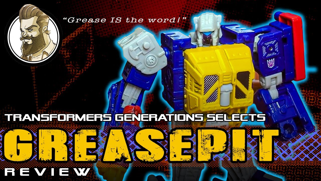 Transformers Generations Selects Greasepit Review by Ham Man