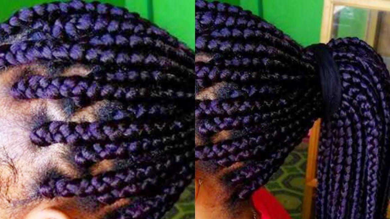 How To Box Braids For Beginnersbest Technique Ever Youtube