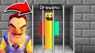 Minecraft : ESCAPING HELLO NEIGHBORS PRISON! (Ps3/Xbox360/PS4/XboxOne/PE/MCPE)