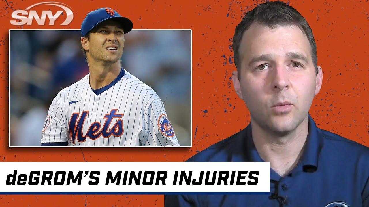 Mets get good news on deGrom's shoulder