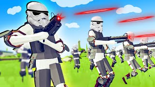 TABS - Star Wars Stormtroopers Invade Every Faction in Totally Accurate Battle Simulator!