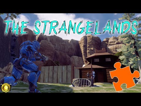 Halo 5 Puzzle Map - The Strangelands
