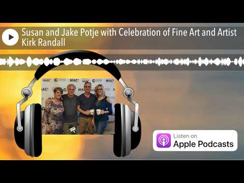 Susan and Jake Potje with Celebration of Fine Art and Artist
