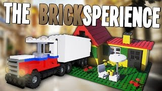 Physics Based Lego Building Game! - The BrickSperience Gameplay - Free Download