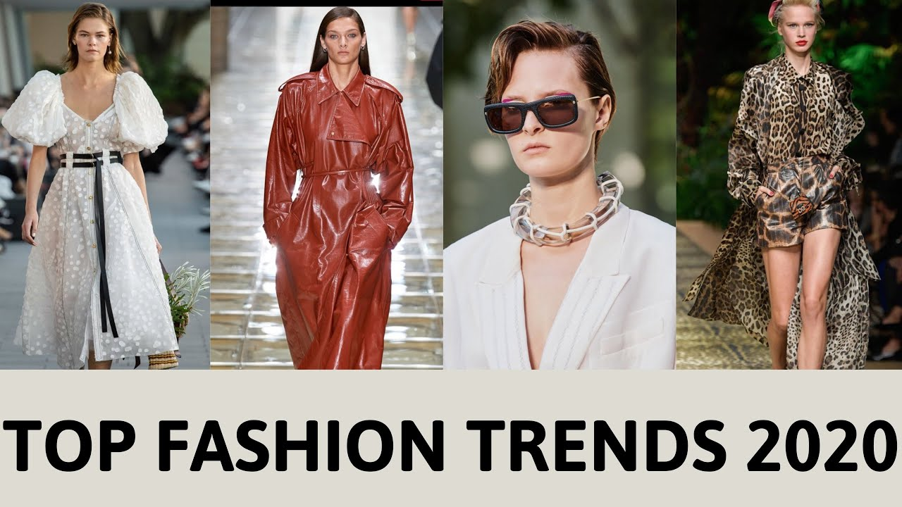 [VIDEO] - TOP 10 FASHION TRENDS 2020 | COLOUR FASHION TRENDS 2020 lookbook  |  fashion trends 2020 7