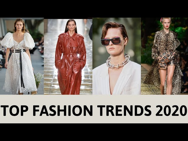 TOP 10 FASHION TRENDS 2020 | COLOUR FASHION TRENDS 2020 lookbook  |  2020 | Red Fashion Chic