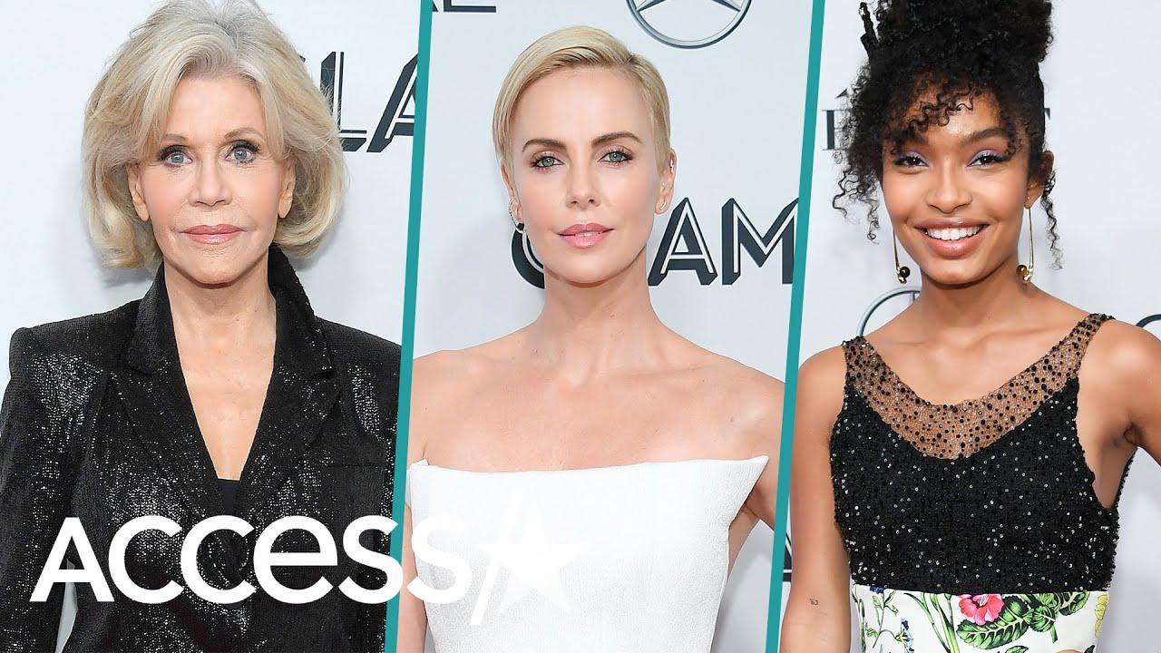 Jane Fonda, Charlize Theron, Yara Shahidi & More Wow At Glamour Women Of The Year Awards