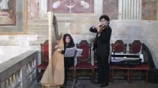 Cerimonia - Marcia Nuziale di Wagner con Arpa e Violino - Oratorio Sant