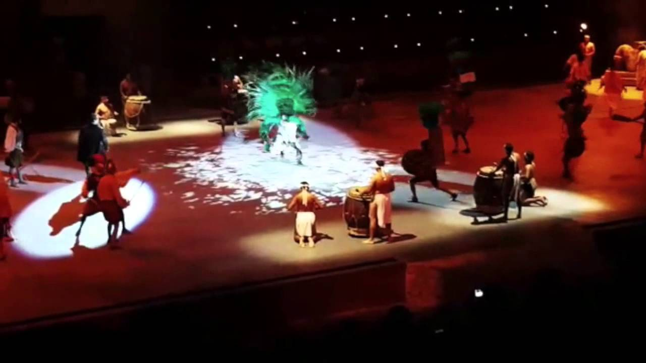 Mexico Espectacular Xcaret 2016 Parte 1 Youtube