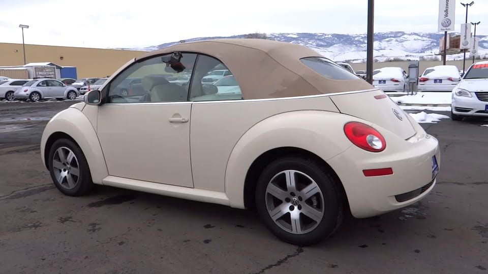 2006 VOLKSWAGEN NEW BEETLE CONVERTIBLE Reno, Carson City, Northern Nevada, Roseville, Sparks, NV ...
