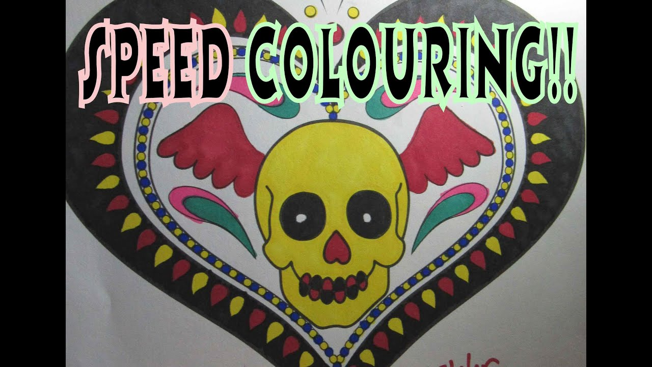 The coloring book of the dead - Day Of The Dead Colouring Book