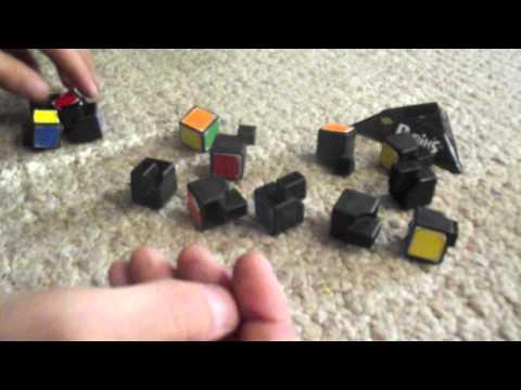 How to take apart and rebuild a Rubik's Cube 3x3