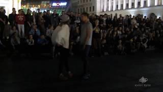 Танцевальные батлы Крещатика,Вечерний Киев часть14 - Dance Battles Khreshchatyk,Kiev Evening part14