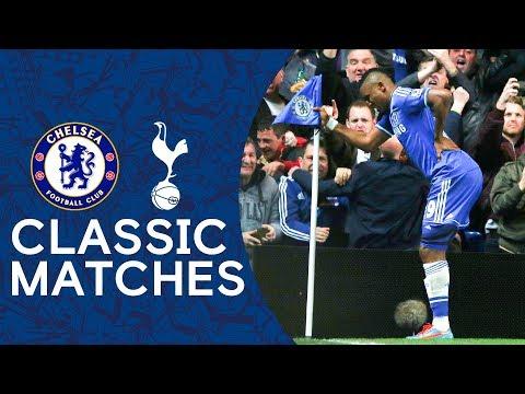 Chelsea 4-0 Spurs | THAT Eto'o Celebration | Premier League Classic Highlights 2013/14