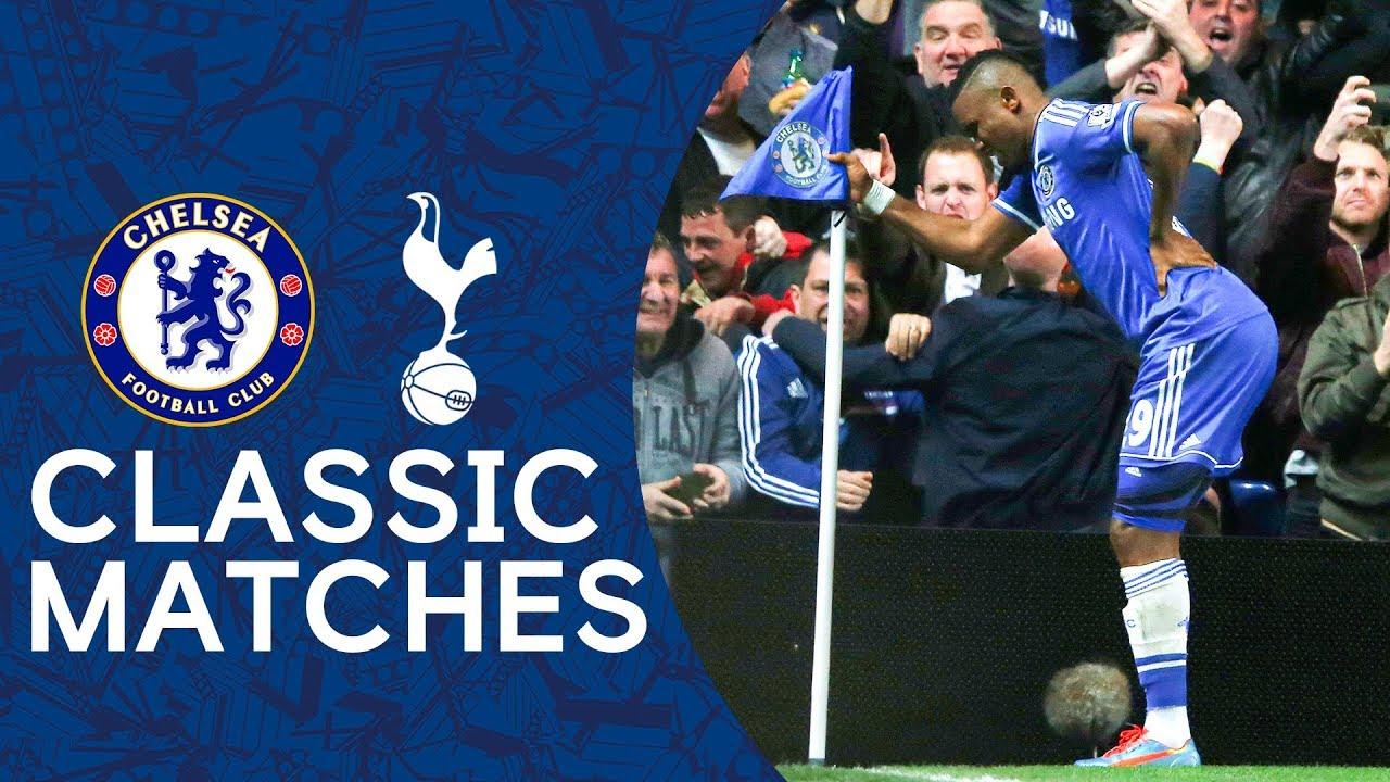Download Chelsea 4-0 Spurs   THAT Eto'o Celebration   Premier League Classic Highlights 2013/14