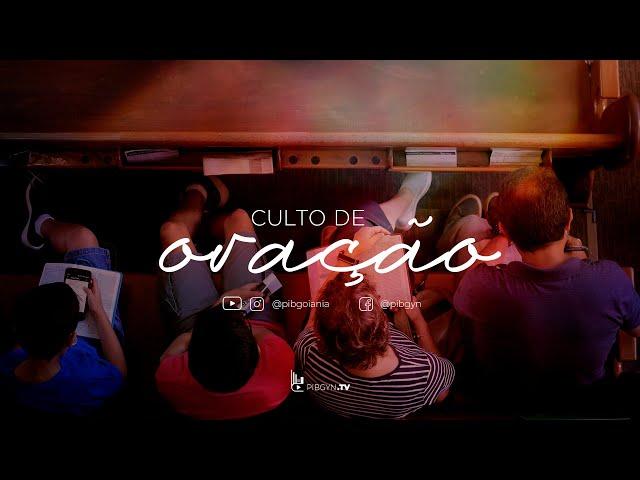 Culto de Oração - 21/04/2021 - Pr Rubens Monteiro