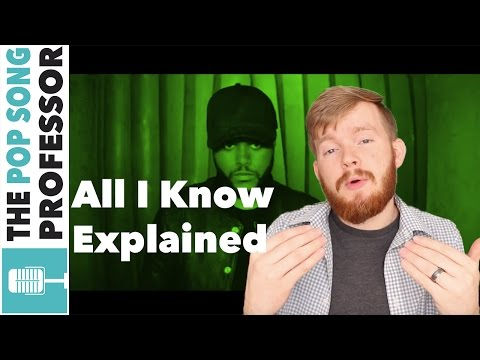 The Weeknd - All I know ft  Future   Song Lyrics Meaning Explanation Poster