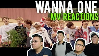 """Video WANNA ONE get so """"ENERGETIC"""" they """"BURN IT UP"""" (MV Reactions) download MP3, 3GP, MP4, WEBM, AVI, FLV Oktober 2017"""