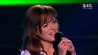 Кристина Дмитрик 'Нева' - выбор вслепую - Голос страны 7 сезон