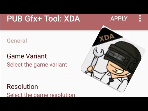 Pubg gfx tool app by XDA developers!!! Arcade gameplay