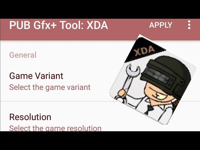 Pubg gfx tool app by XDA developers!!! Arcade gameplay