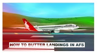 How to Butter your Landings in Acceleration Flight Simulator (Roblox)