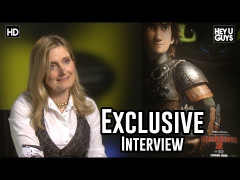 Author Cressida Cowell - How to Train Your Dragon 2 Exclusive Interview