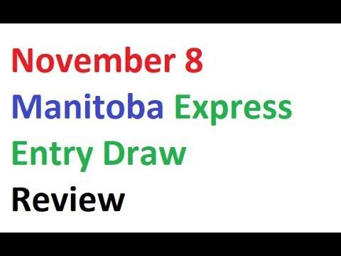 November 8 Manitoba Express Entry Draw Review Canada Immigration Visa