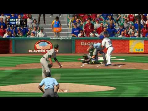 MLB The Show 16 Oakland Athletics vs Texas Rangers